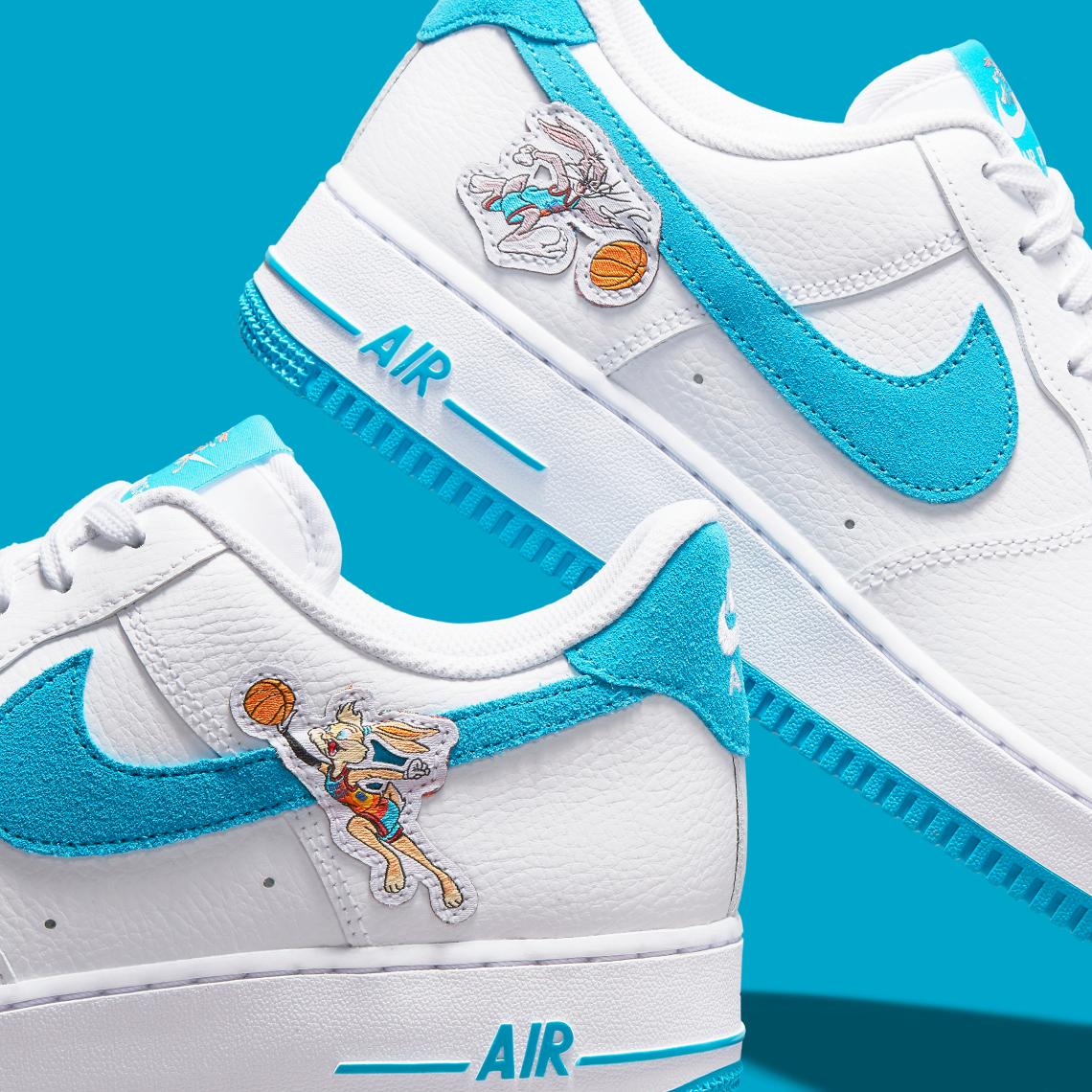 Space Jam x Nike Air Force 1 '07 ''Toon Squad'' - DJ7998-100