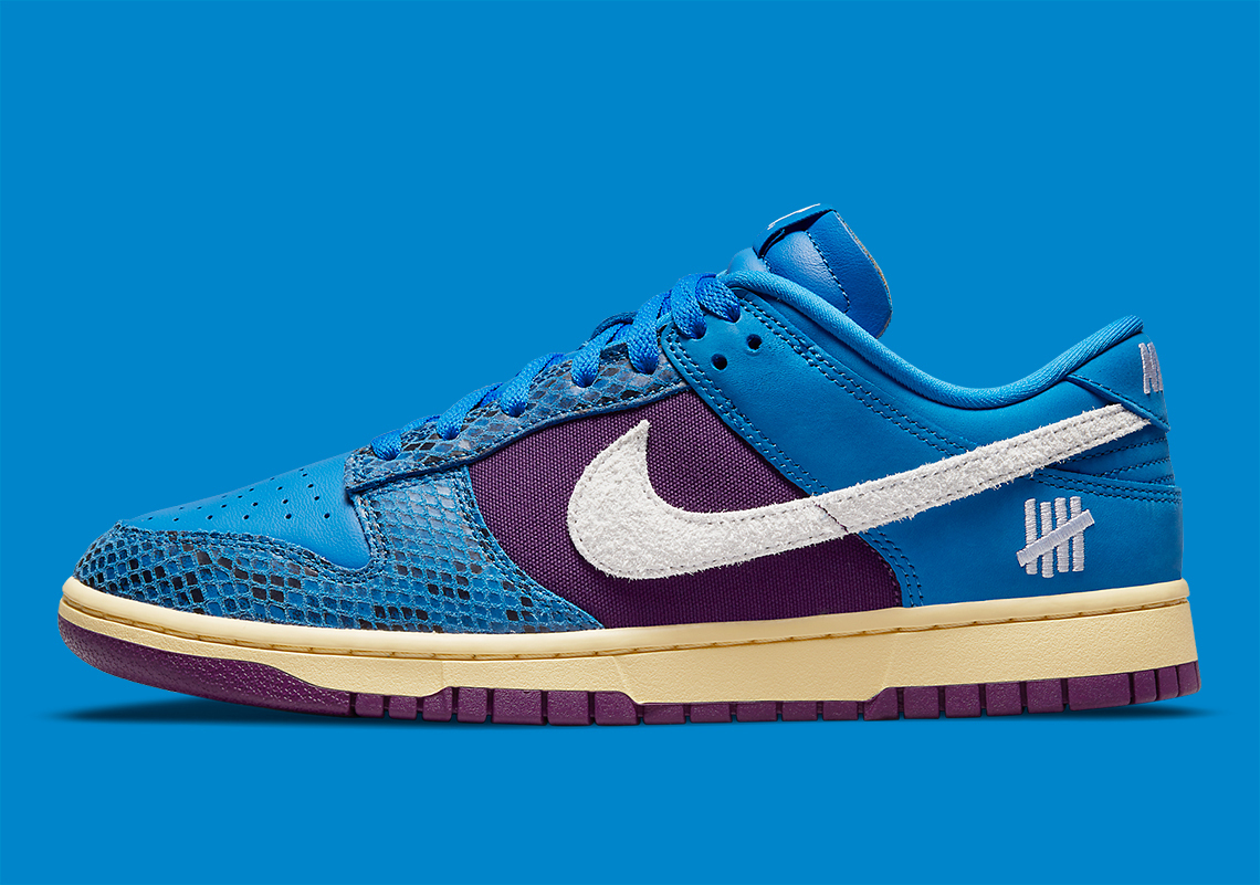 UNDEFEATED x Nike Dunk Low ''Royal/Purple'' - Dunk vs. AF-1 - DH6508-400