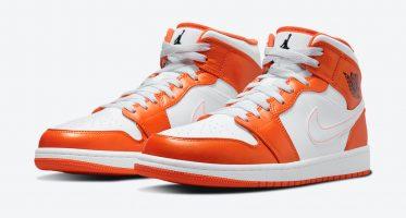 Air Jordan1 Mid SE ''Electro Orange''