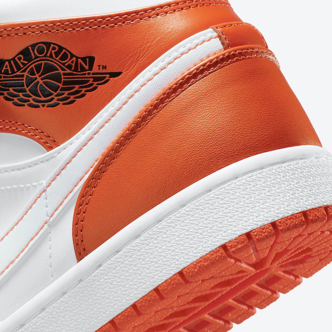 Air Jordan 1 Mid SE ''Electro Orange'' - DM3531-800