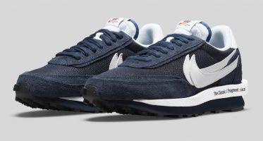 Fragment DesignSacai x Nike LDWaffle ''Blue Void''