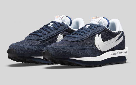 Fragment Design x Sacai x Nike LDWaffle ''Blue Void'' - DH2684-400