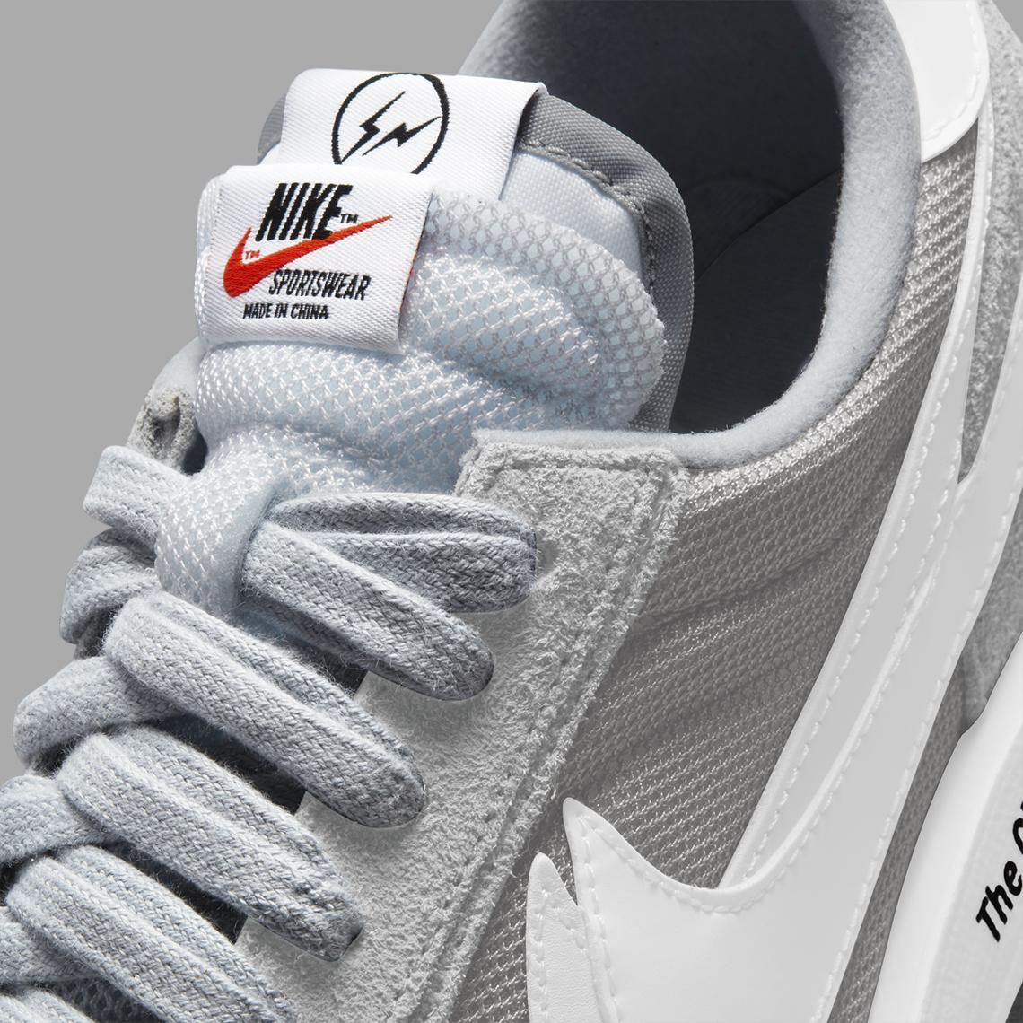 Fragment Design x Sacai x Nike LDWaffle ''Wolf Grey'' - DH2684-001