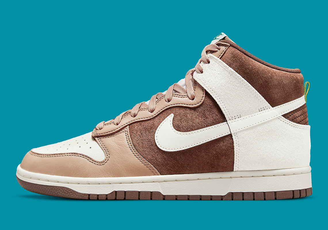 Nike Dunk High PRM ''Light Chocolate'' - DH5348-100