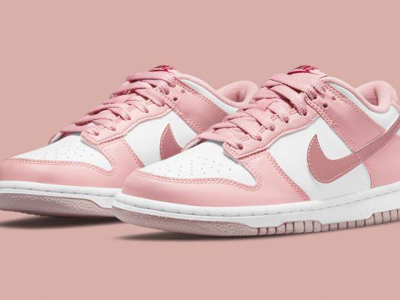 nike dunk low gs pink velvet DO6485 600 560x420