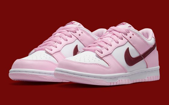 nike dunk low gs valentines day CW1590 601 560x350