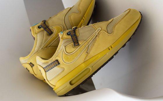 Travis Scott x Nike Air Max 1 ''Wheat'' - DO9392-700