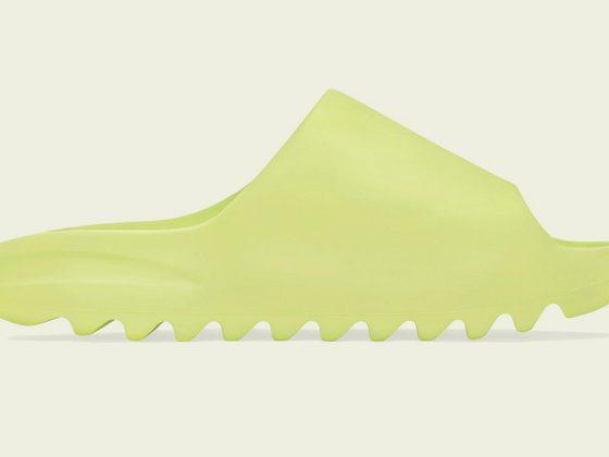 adidas yeezy slide glow green GX6138 560x420