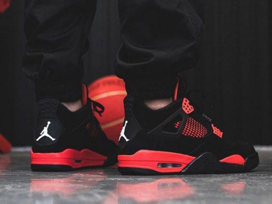 Air Jordan 4 ''Red Thunder'' - CT8527-016