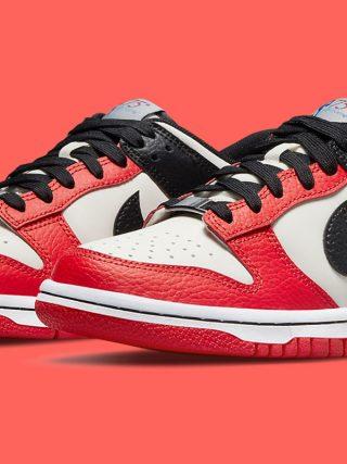 NBA x Nike Dunk Low EMB ''Diamond Anniversary'' - Chicago - DD3363-100