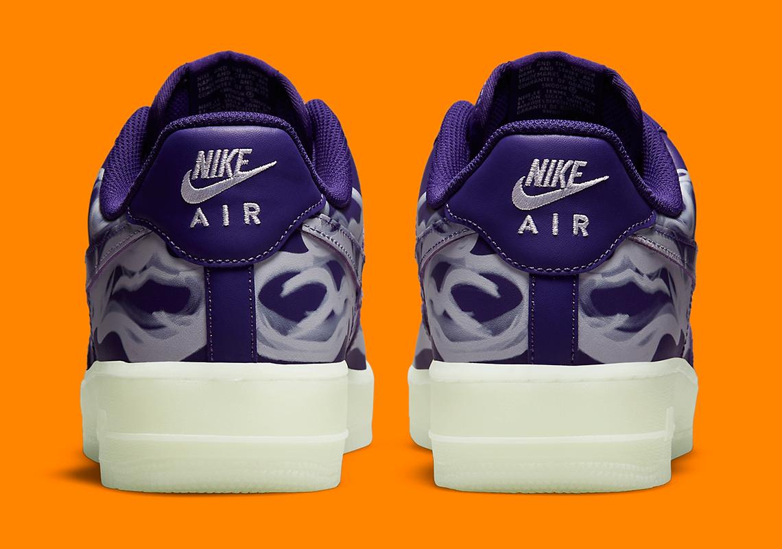 Nike Air Force 1 Low ''Purple Skeleton'' - 2021 - CU8067-500