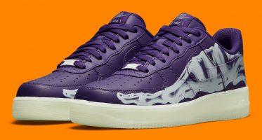 NikeAir Force 1 Low ''Purple Skeleton''