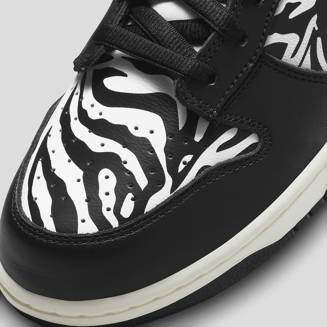 Quartersnacks x Nike SB Dunk Low ''Zebra'' - DM3510-001