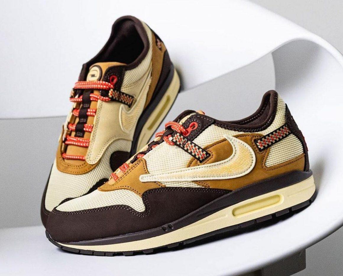Travis Scott x Nike Air Max 1 ''Baroque Brown'' - DO9392-200