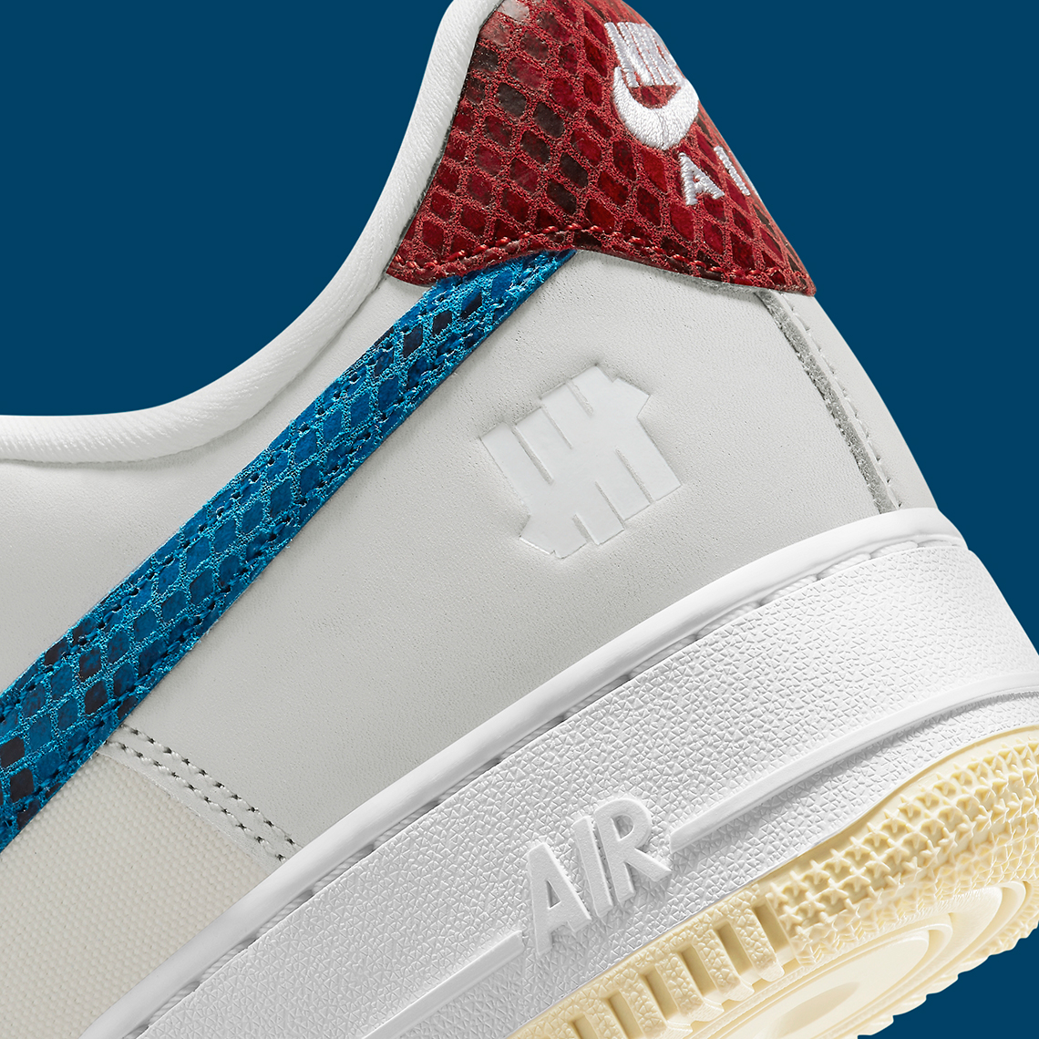 UNDEFEATED x Nike Air Force 1 Low ''5 On It'' - DM8461-001