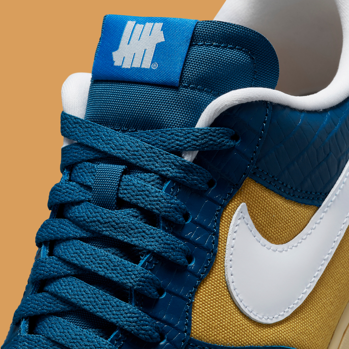 UNDEFEATED x Nike Air Force 1 Low ''5 On It'' - Court Blue - DM8462-400