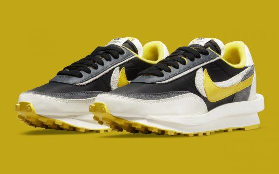 UNDERCOVER x Sacai x Nike LDWaffle ''Bright Citron'' – DJ4877-001