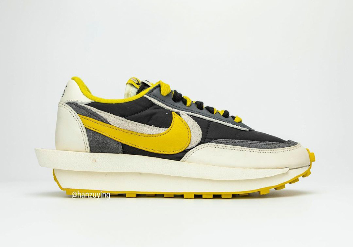 UNDERCOVER x Sacai x Nike LDWaffle ''Bright Citron'' - DJ4877-001