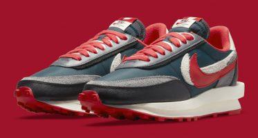 UNDERCOVERSacai x Nike LDWaffle ''Midnight Spruce''
