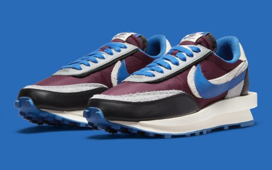 UNDERCOVER x sacai x Nike LDWaffle ''Night Maroon'' – DJ4877-600
