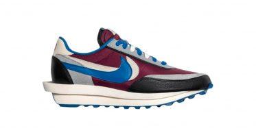UNDERCOVERsacai x Nike LDWaffle ''Night Maroon''