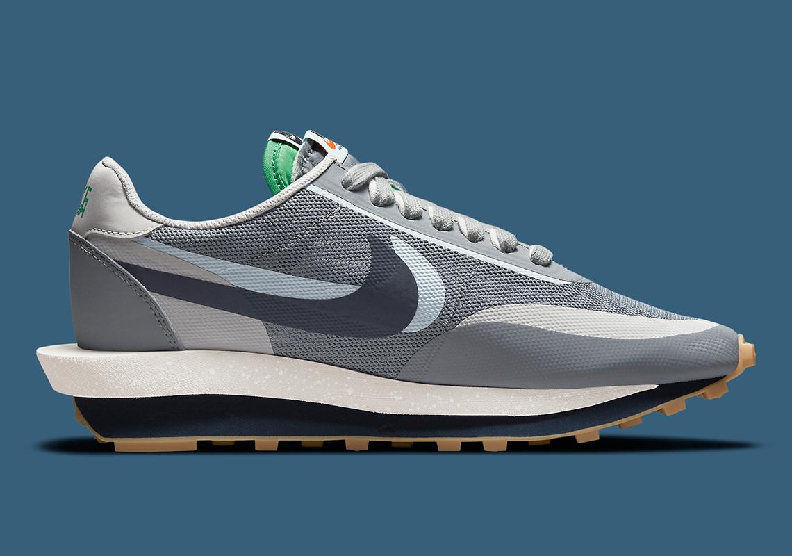 CLOT x Sacai x Nike LDWaffle ''Cool Grey'' - DH3114-001