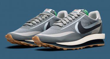 CLOTSacai x Nike LDWaffle ''Cool Grey'' - DH3114-001