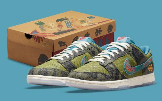 Nike Dunk Low ''Siempre Familia'' - DO2160-335