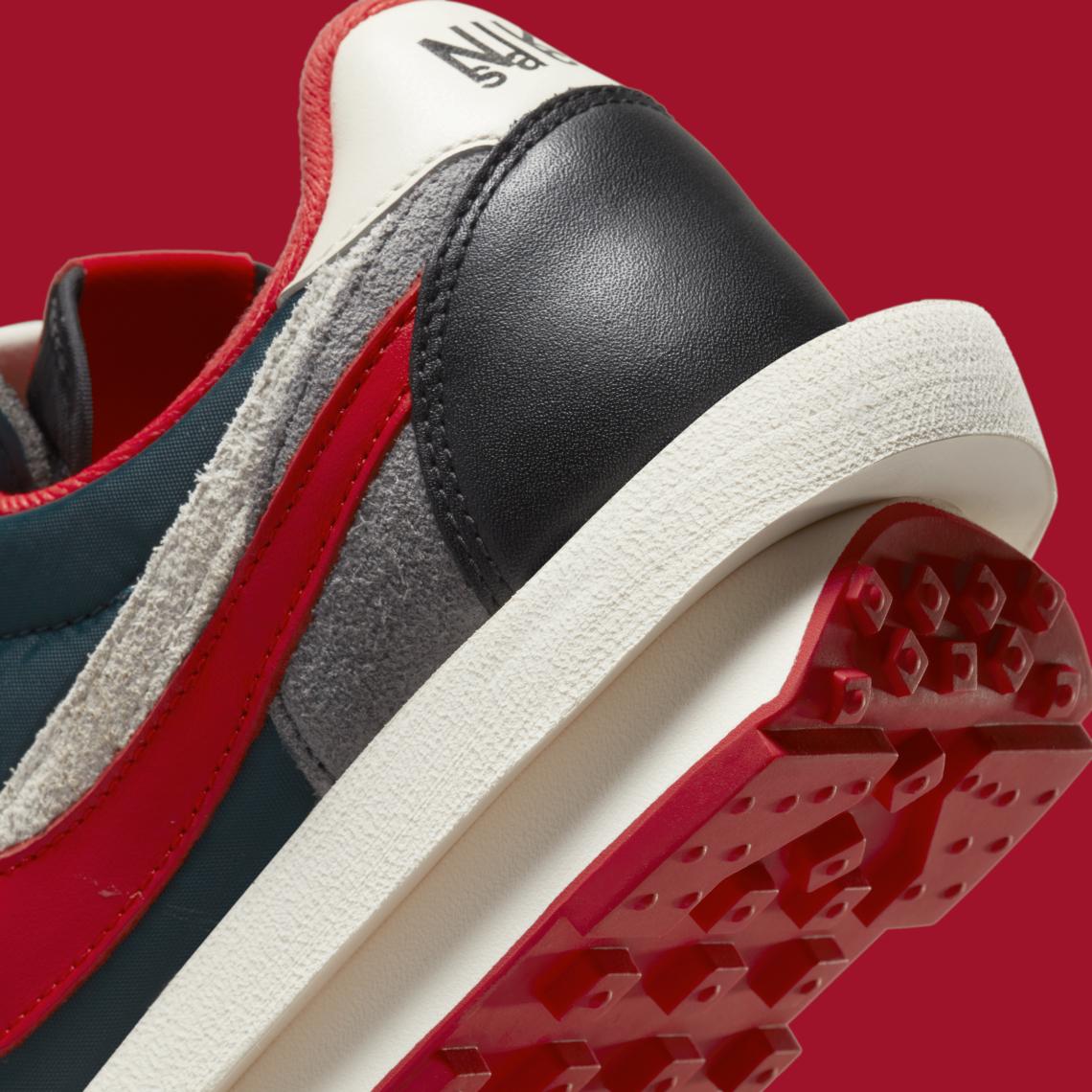 UNDERCOVER x Sacai x Nike LDWaffle ''Midnight Spruce'' - DJ4877-300